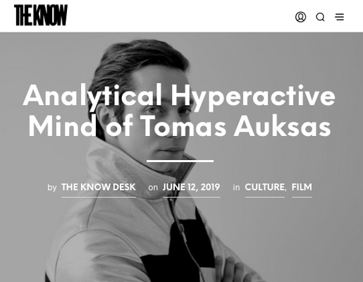 Analytical Hyperactive Mind of Tomas Auksas