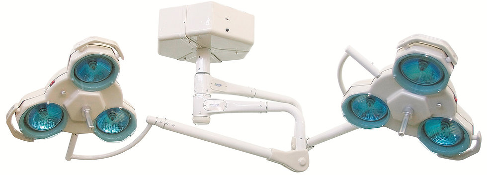 Surgical Light FL 2000 T - 2 domes (03 to 06 bulbs)