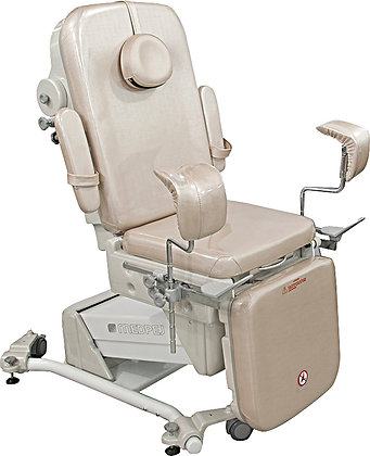 Cadeira Ginecológica CG 7000 P (mocho + foco)