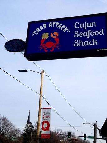 """Crab Attack"" Cajun Seafood Shack"