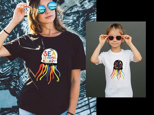 Sea Beyond Binary Youth T-shirt