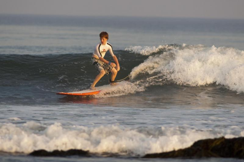 Surfing for young and old