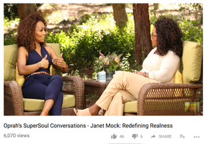 Oprah's Soulful Conversation with Janet Mock about Redefining Realness