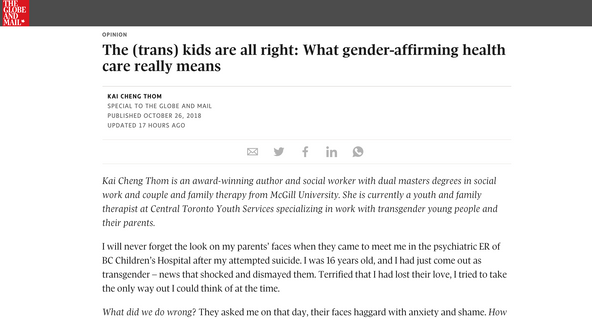What Gender Affirmative Care Means