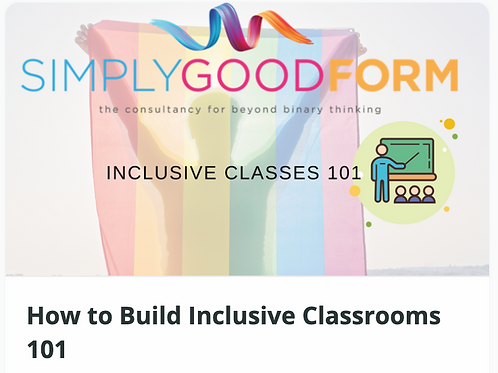 How To Build Inclusive Classes101