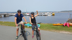 Cycling with Halifax Adventures.com