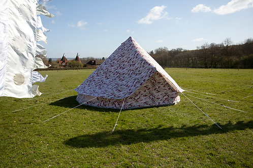 Ultimate Camo Pattern Bell Tent