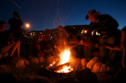 Campfires and S'mores at AOI