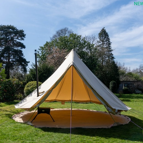 Ultimate PRO Bell Tent with FireGuard
