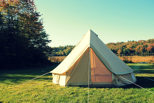 4M Ultimate Sandstone Canvas Bell Tent