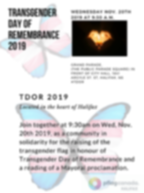 Transgender day of remembrance 2019 (1).