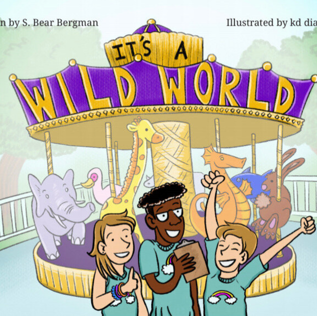 It's a Wild World Book