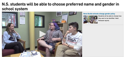 Name and Gender Markers in NS Schools