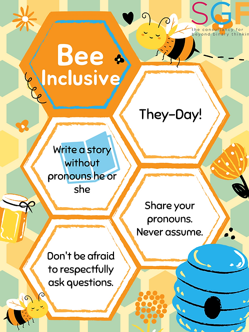 Poster: Bee Inclusive Classroom