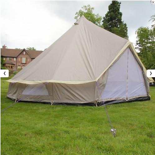 Lightweight Bell Tent Sandstone/Aztec/Palm Leaf