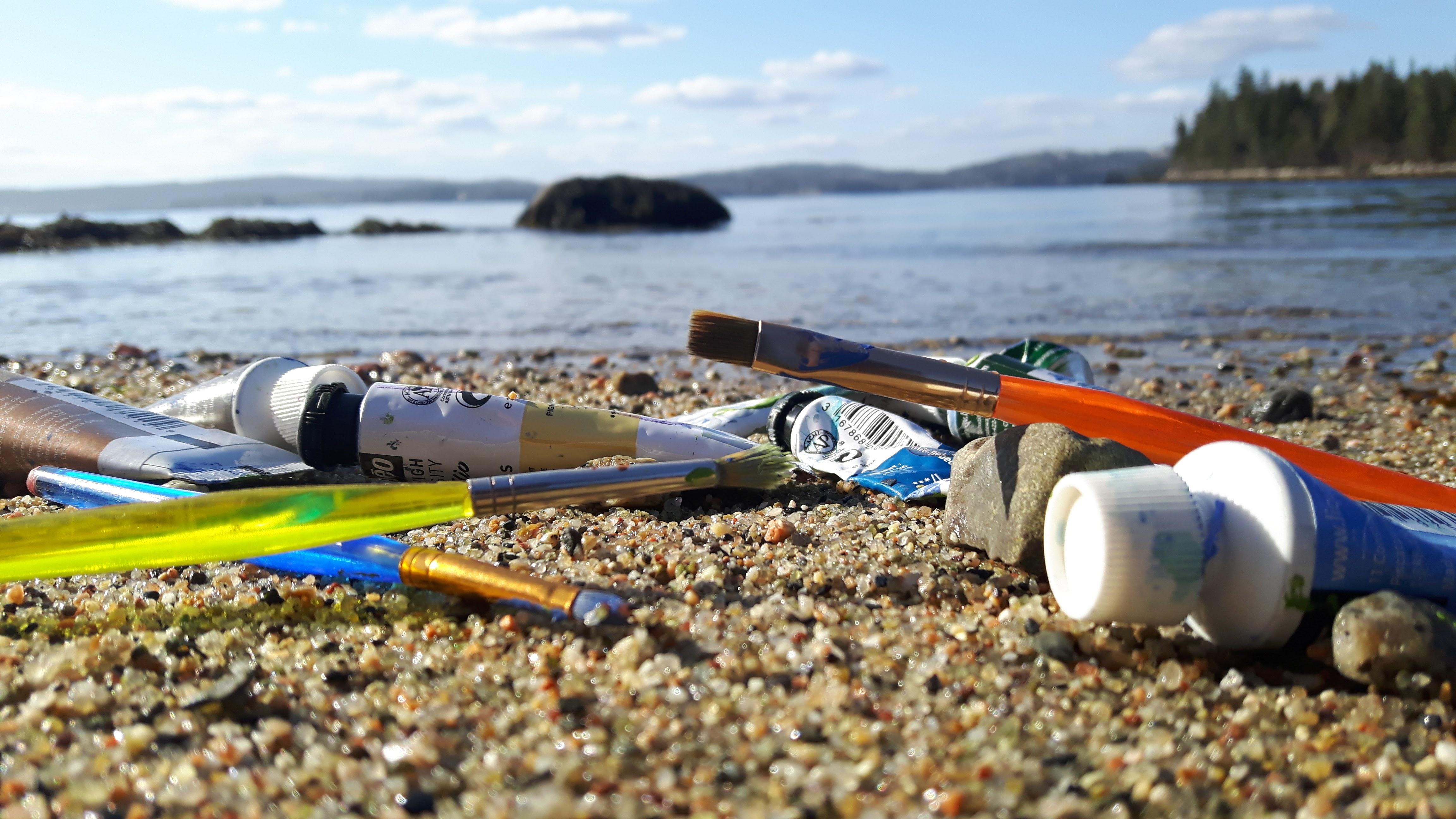 Seaside painting Seaborn Art Studio