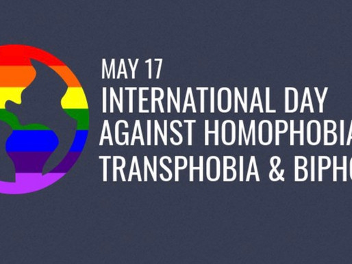 Happy #IDAHOTB Day and carrying the culture forward: Time to Talk