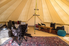 Lounge Tent by day