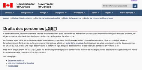 Droits des personnes LGBTI
