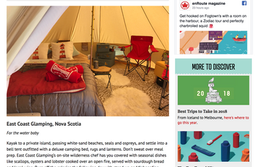 Best Glamping across Canada