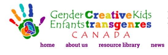 Gender Creative Kids CANADA