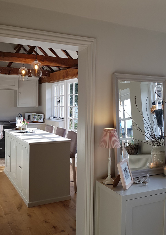 Kitchen and boot room