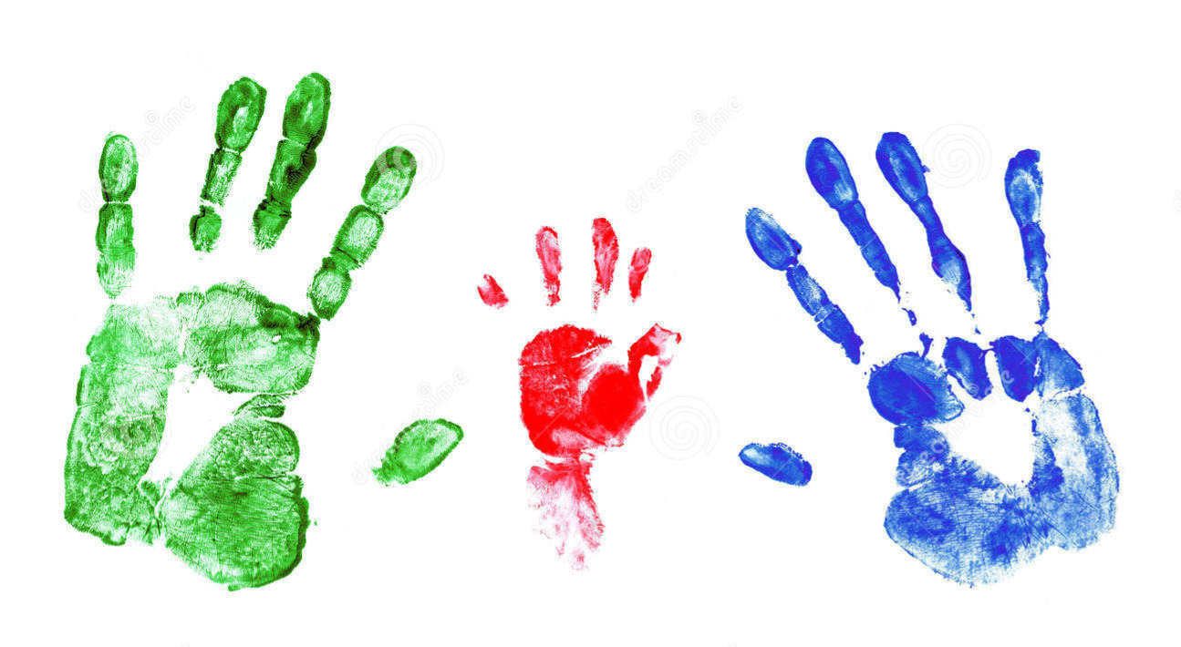 family-handprints-set-palm-prints-man-wo