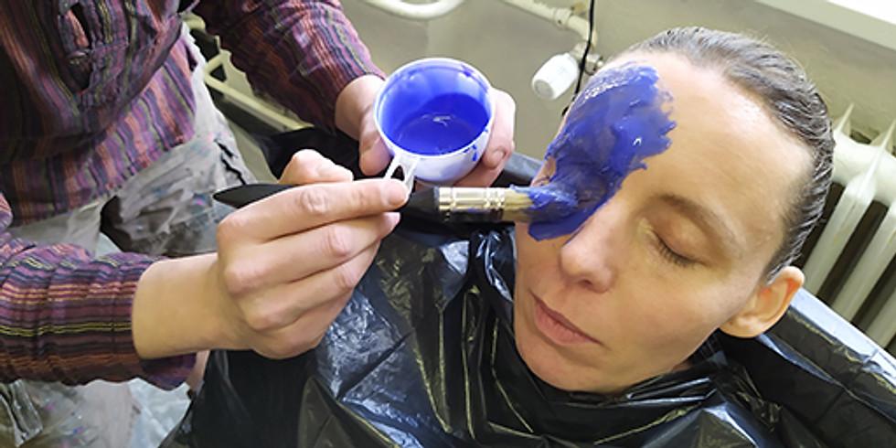 Základy speciálních make-up efektů III. - lifecasting, 3D formy, barvení silikonu