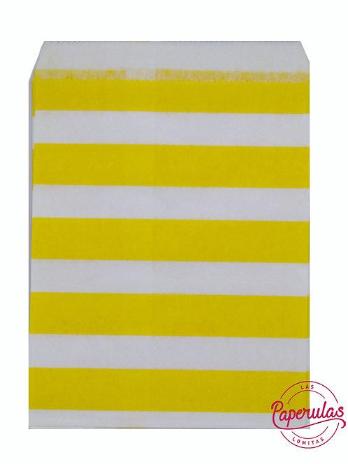 Bolsitas x 10 uni - Amarillas