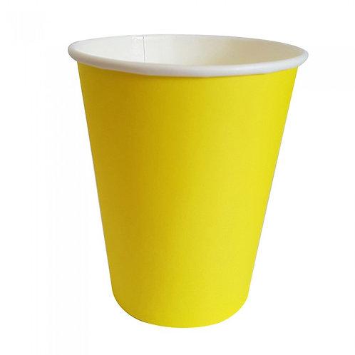 Vasos lisos - Amarillo