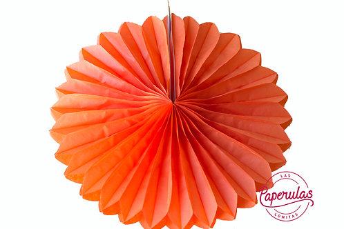 Roseta de papel - Naranja
