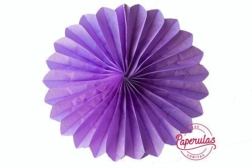 Roseta de papel -  Violeta