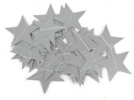 Estrellitas Plata Glitter