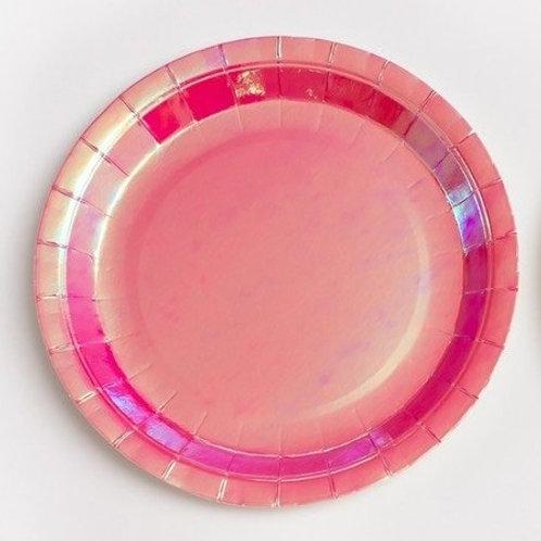 Platos fantasía rosa