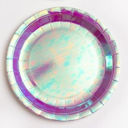 Platos fantasía violeta