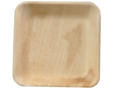 Plato Bamboo Cuadrados