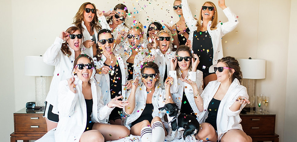 Bridal Party at Westin Cape Coral