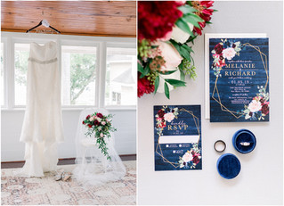 Melanie + Richard Wedding | The Heitman House | Fort Myers, Florida
