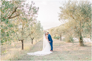 Christine + Gabe | Intimate Wedding at Villa le Bolli, Radicondoli | Tuscany, Italy Wedding