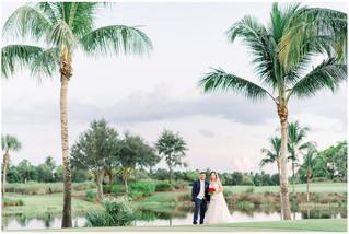 Kayla + Cesar Wedding | Church of Resurrection | Plantation Golf & Country Club