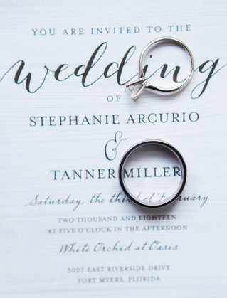 Stephanie + Tanner | White Orchid at Oasis Wedding