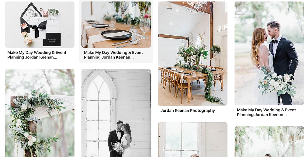 Pinterest Weddings - Jordan Keenan Photography