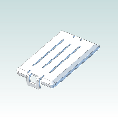 3D print file download: Battery Cover (3D print version)