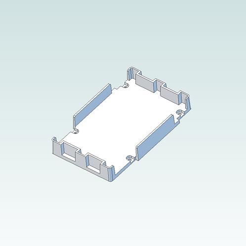 3D print file download: Breadboard Mount (3D print version)
