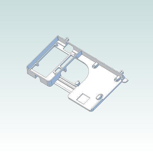 3D print file download: SBC baseplate v2 for Tablet Frame Kits (3D prnt version)