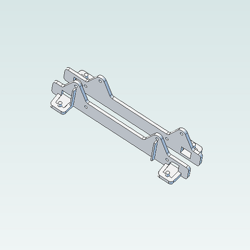 3D print file download: Drive Mount, Two Side Rails