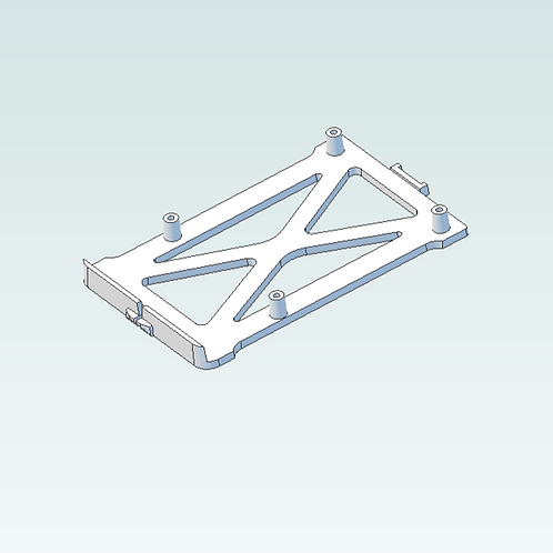 3D print file download: Left-Side RPI Mount
