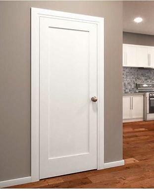 Paneled+Wood+Primed+Shaker+Standard+Door