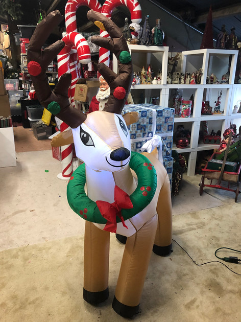 6 ft. Reindeer LED