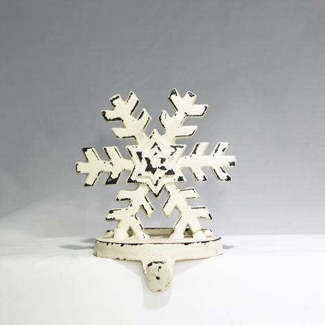 distressed white snowflake